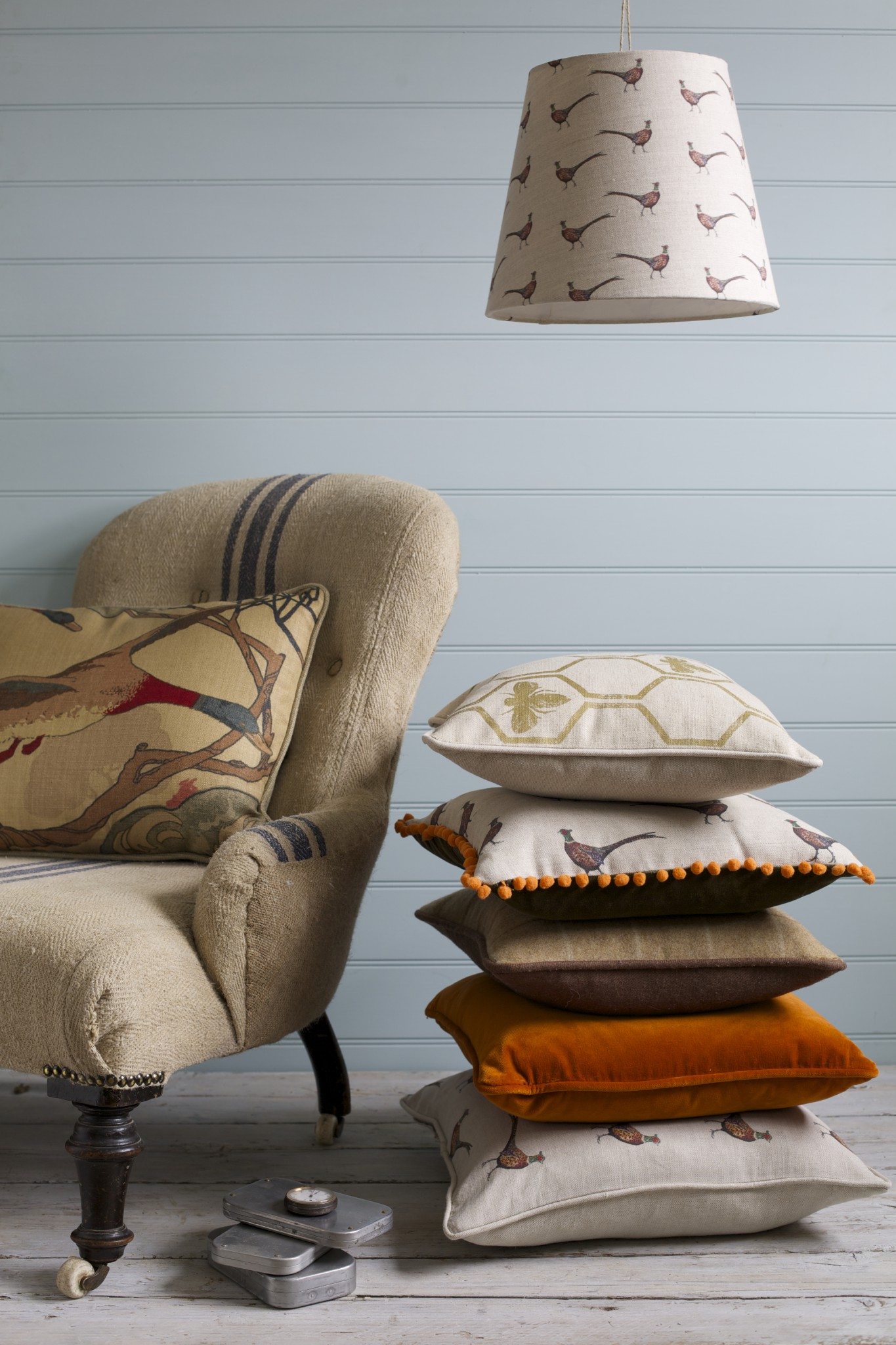 Bespoke Cushions & Lampshades by Rascal & Roses