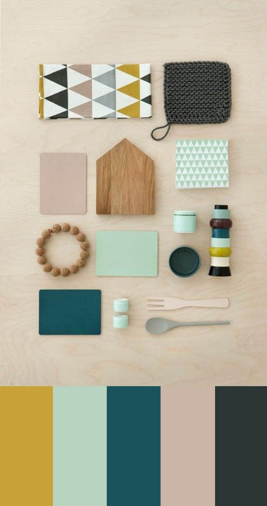 teal-and-mustard-board